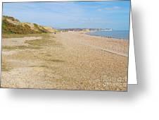 Glyne Gap Coast In England Greeting Card