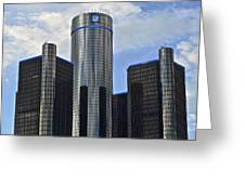 Gm Building Greeting Card