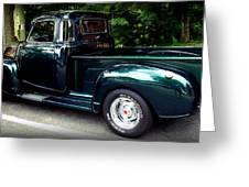 Gmc Classic Truck Greeting Card