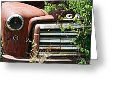 Gmc Grill Work Greeting Card