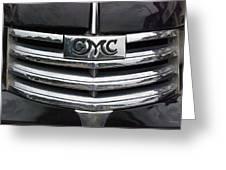 Gmc Truck Emblem Greeting Card