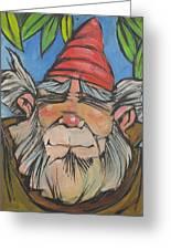 Gnome 2 Greeting Card