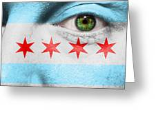 Go Chicago Greeting Card by Semmick Photo