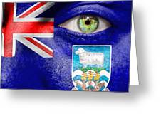 Go Falkland Islands Greeting Card
