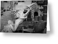 Go Figurehead Greeting Card
