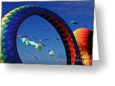 Go Fly A Kite 2 Greeting Card