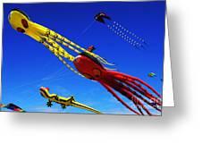 Go Fly A Kite 7 Greeting Card
