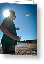 Go Fly A Kite Greeting Card