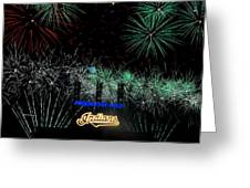 Go Indians Greeting Card