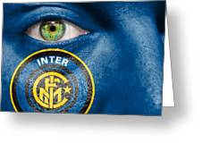 Go Inter Milan Greeting Card