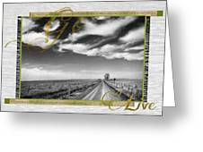 Go Live Greeting Card