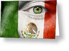 Go Mexico Greeting Card
