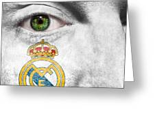 Go Real Madrid Greeting Card
