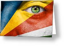 Go Seychelles Greeting Card