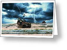 Go Though The Storm Greeting Card