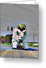 Go Truck Greeting Card