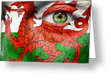 Go Wales Greeting Card