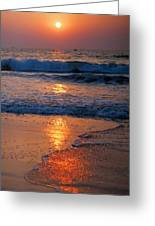 Goan Sunset. India Greeting Card