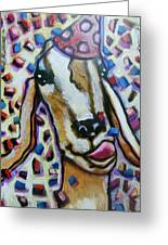 Goat Party Greeting Card