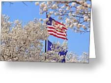 God Bless America March 2014 Greeting Card