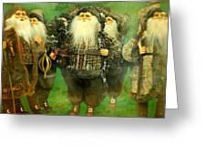 God Rest Ye Merry Gentlemen Greeting Card
