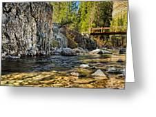 Goddard Canyon Greeting Card