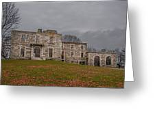 Goddard Mansion Greeting Card