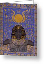 Goddess Isis Greeting Card by Diana Perfect