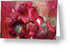 Goddess Of Passion Greeting Card