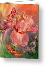 Goddess Of Spring Greeting Card