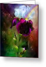 Goddess Of The Rainbow Greeting Card