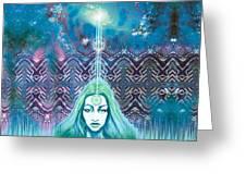Godess Wisdom Greeting Card