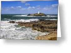 Godrevy Lighthouse - 5 Greeting Card