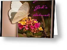 God's Beloved Greeting Card