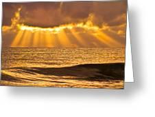 God's Eyelashes Greeting Card