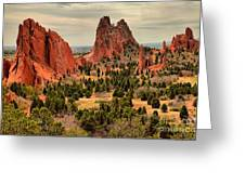 Gods Garden In Colorado Greeting Card