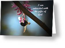 God's Gifts Greeting Card