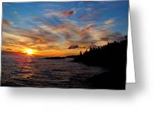 God's Morning Painting Greeting Card