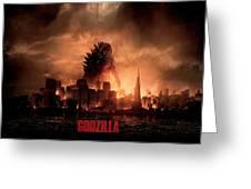 Godzilla 2014 Greeting Card