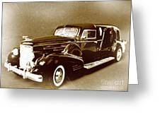 Going Out In Style Greeting Card