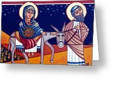 Going To Bethlehem Greeting Card
