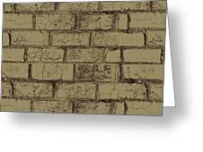 Gold Bricks Greeting Card