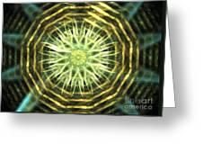 Gold Bullion Greeting Card