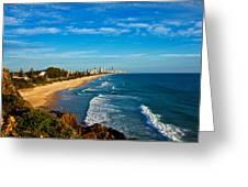 Gold Coast North Greeting Card