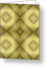 Gold Metallic 14 Greeting Card