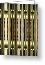 Gold Metallic 18 Greeting Card