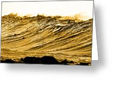 Gold Nugget Greeting Card