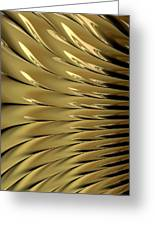 Gold Ridges Greeting Card