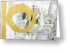 Gold Rush - Abstract Art Greeting Card