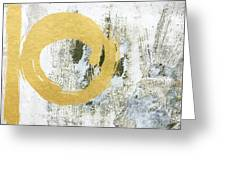 Gold Rush - Abstract Art Greeting Card